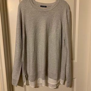 Hilary Radley layered look sweater. XXL